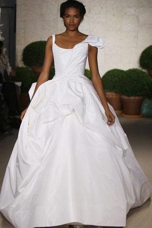 Oscar de la renta designer wedding dresses onewed for Oscar de la renta wedding dress prices