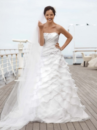 David 39s Bridal Designer Wedding Dresses OneWed