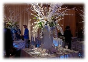 Bubbly Bride: Ice (Sculptures that is) Takes the Cake