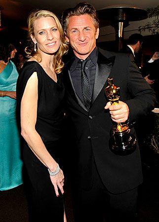 Sean Penn at the Oscars