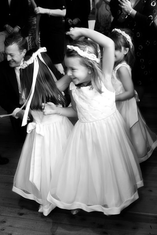 Current flower girls, future brides