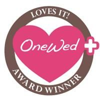 OneWed Loves It! Award Winner