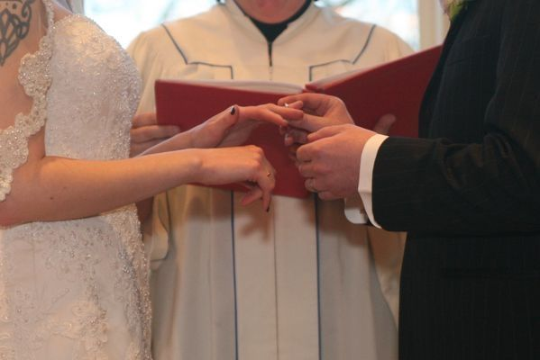 Traditional Wedding Vows with a Rock 'n Roll feel