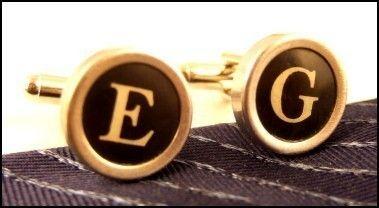 Custom cufflinks for your groomsmen