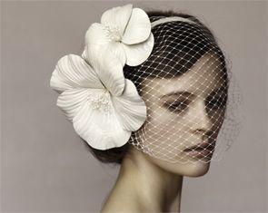 Jennifer Behr bridal veil