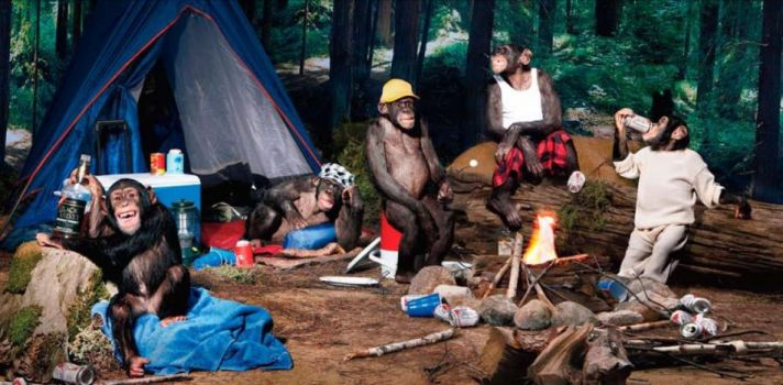 Rough it: The wilderness is the perfect place for your bachelor party weekend