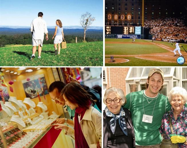 Plan a picnic, go shopping or to a sports game, or volunteer with your fiance!