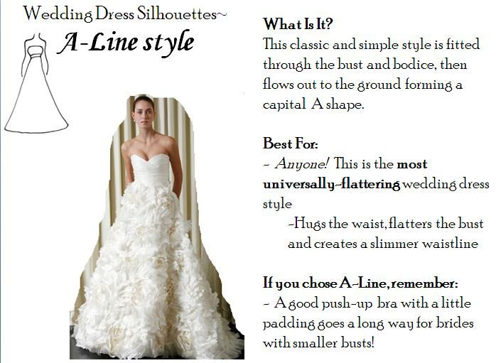 A-line wedding dresses- the most universally-flattering dress style