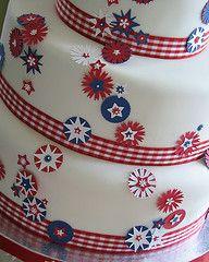 Grand finale wedding cake