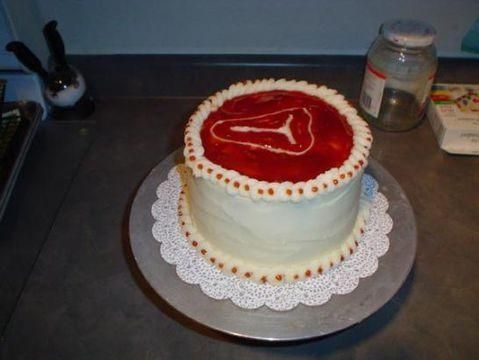 The meat cake