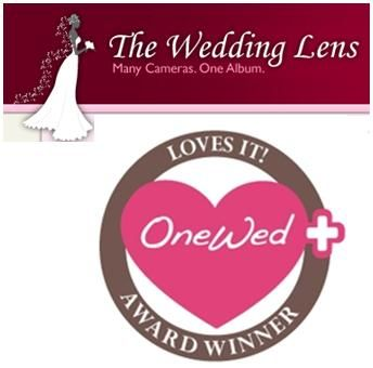 OneWed loves The Wedding Lens for seamless, easy online photo sharing!
