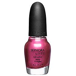 Perfect for the recently engaged, this pink nail polish by Sephora by OPI is called How Many Carats