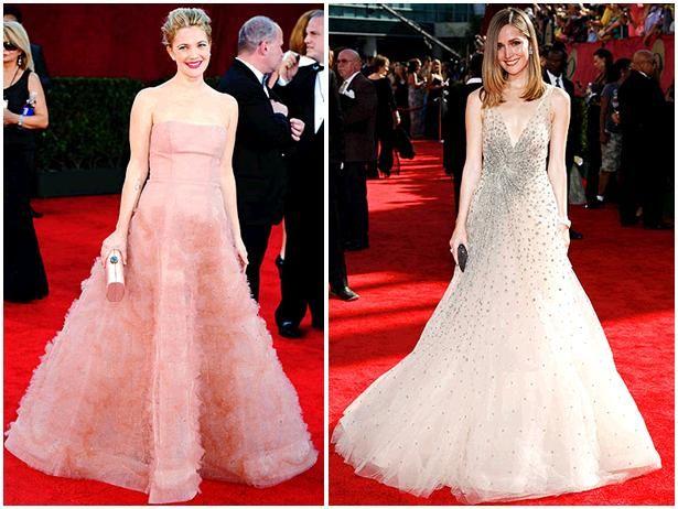 Full, whimsical, romantic skirts were worn by stars like Drew Barrymore