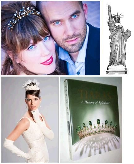 Contemporary tiaras- what brides wear today when walking down the aisle