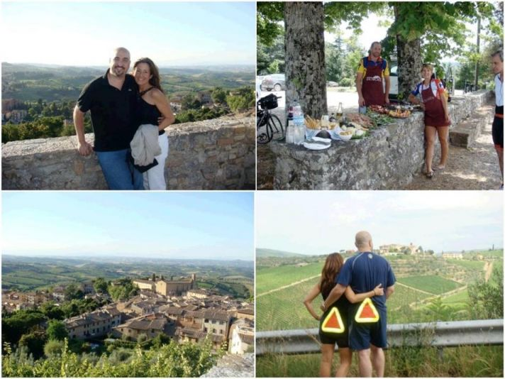 Hiking or biking through the Italian countryside- perfect honeymoon for the adverturous couple!