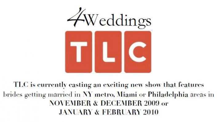 Calling all NY Metro, Philly, and Miami Brides-to-Be: Be part of TLC's new wedding show!