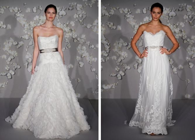 ivory floral net wedding dress with hints of lace, circular floral net skirt and pewter embroidered