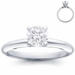 This stunning platinum engagement ring has a square cut diamond on a four prong setting.