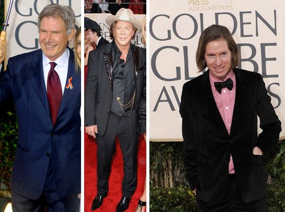 The BAD on the 2010 Golden Globes red carpet