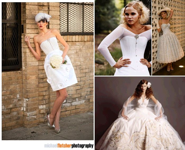 Joan shum artistic and fashion-forward wedding dresses