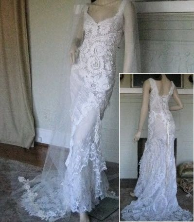 used designer wedding gown dress
