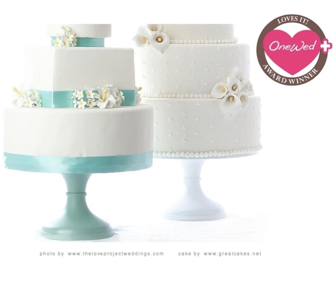 Beautiful DIY wedding cake stand from Sarah 39s Stands