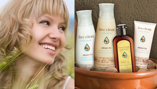 Argan Oil hair products are good for your tresses, and for the environment!