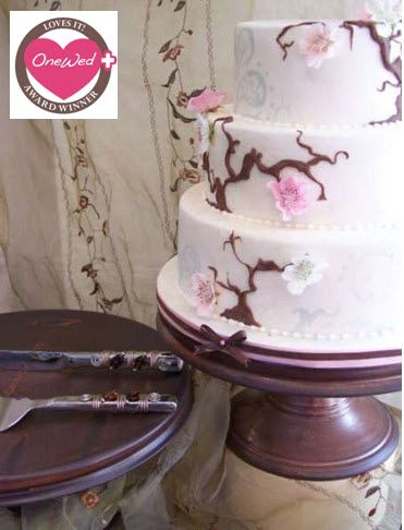 Win this gorgeous chocolate brown handmade cake stand!