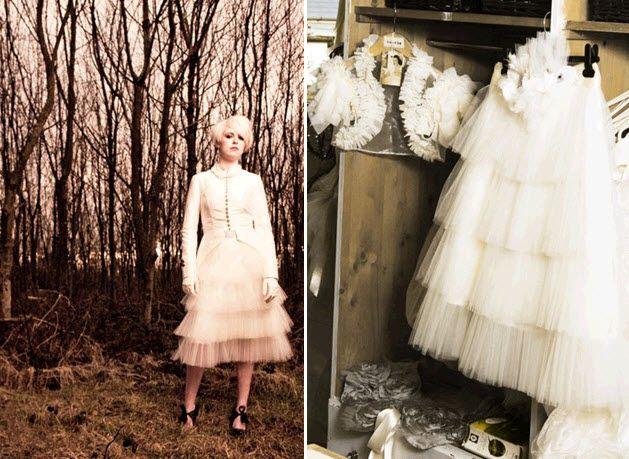 Vintage bridal style by Etsy seller Bonzi