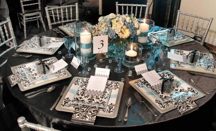 Plan a chic, sophisticated bridal shower with products from Party City