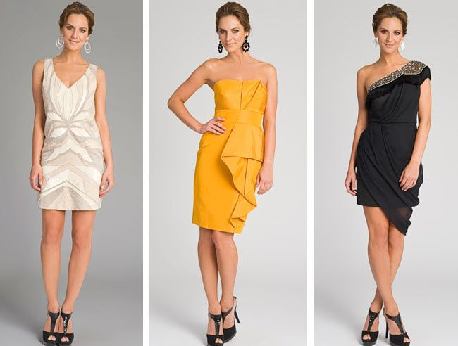 Rent these fabulous designer dresses for your rehearsal dinner, or for your bridesmaids!