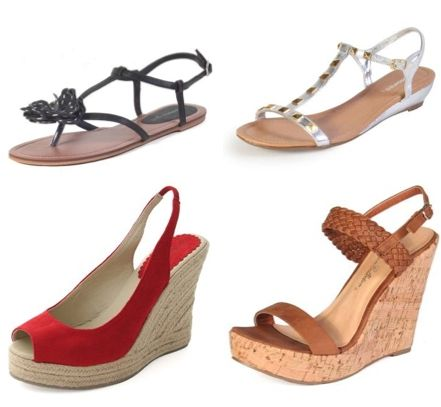 Vegan sandles and wedges for your honeymoon- chic and eco-friendly