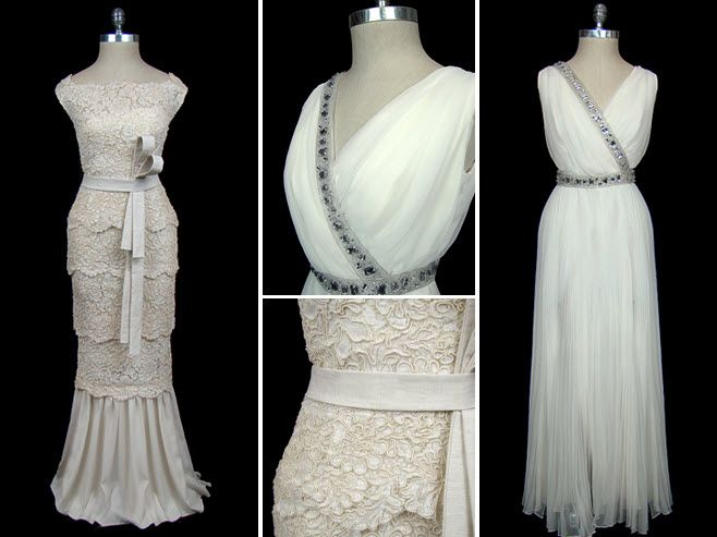 Vintage Designer Wedding Dresses from TheFrock! | OneWed