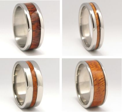 Green Wedding Ideas from Recycled Bride Wooden Wedding Bands
