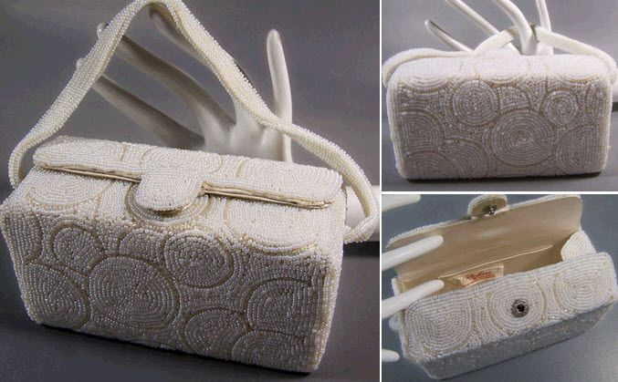 purse from the 1950s Credit Vintage in Style wedding rings 1950s style