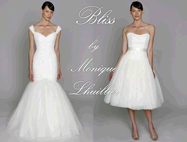 More images from the blog post A Monique Lhuillier Wedding Dress In Your