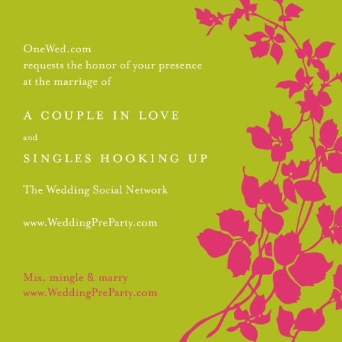 Make your wedding planning social with OneWed's Wedding Pre-Party