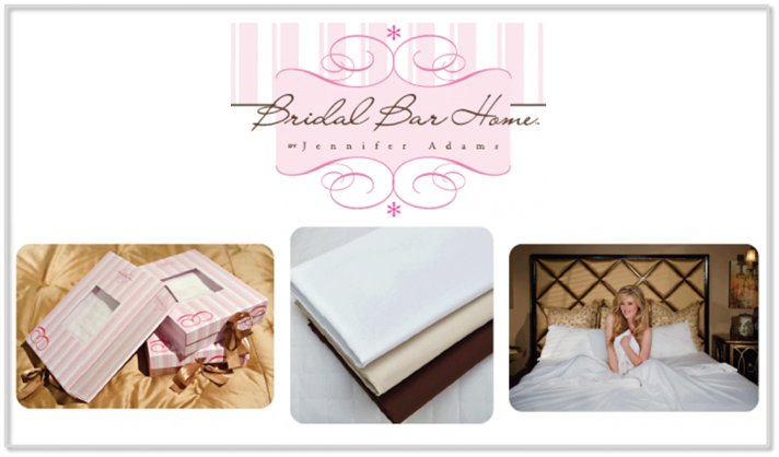 bridal bar home by jennifer adams sheet sale