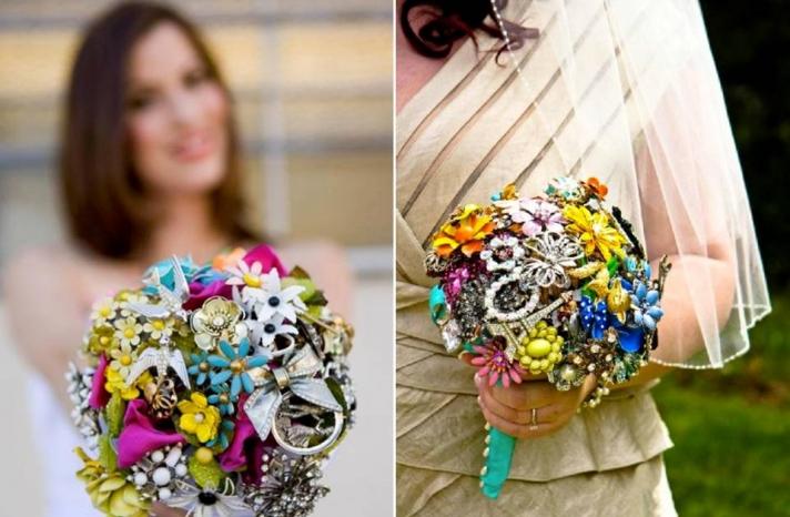 unique-eco-friendly-wedding-flowers-brooch-bouquet-for-bride