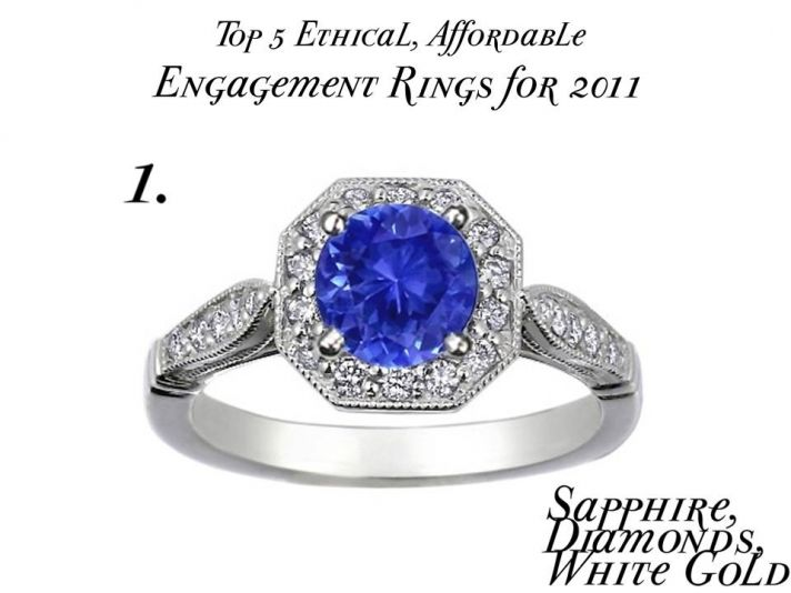 Top 5 eco-friendly, affordable engagement rings for 2011