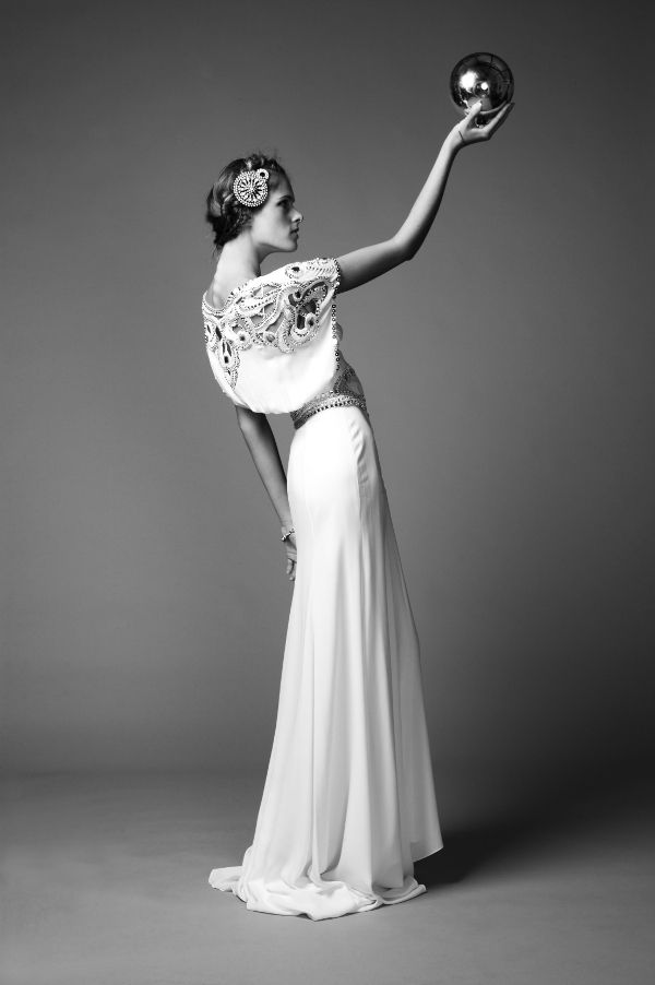 Ethereal 2011 wedding dress from Temperley London- vintage inspired and beautifully embellished