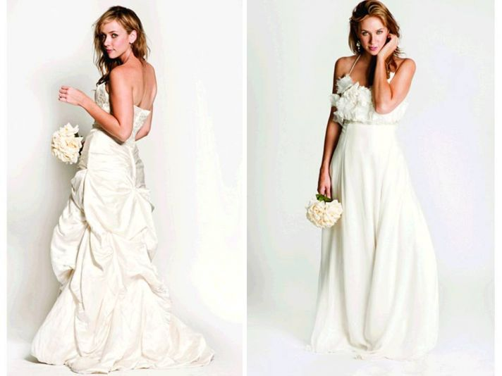 Jessica Iverson Couture 2011 eco-friendly wedding gowns