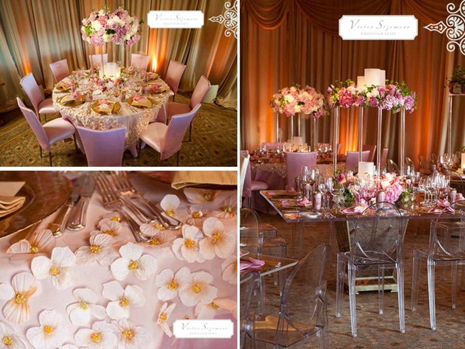 Violet s the wedding centerpieces are something that