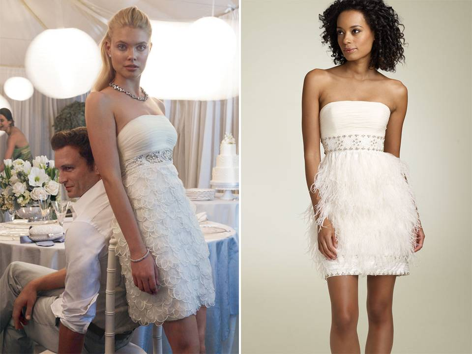 Wedding Reception Dresses On Short White Strapless By Sue Wong Onewed