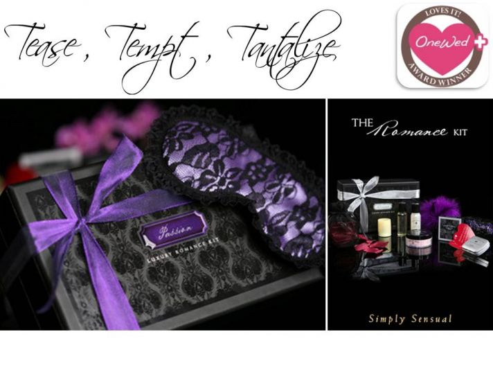 Turn up the romance with this week's giveaway- a luxury romance kit from New Indulgence!