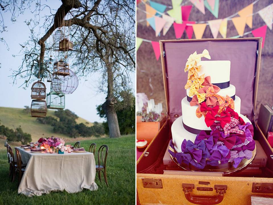 Yolanda 39 s blog your campground wedding can have a for Outdoor vintage wedding decoration ideas