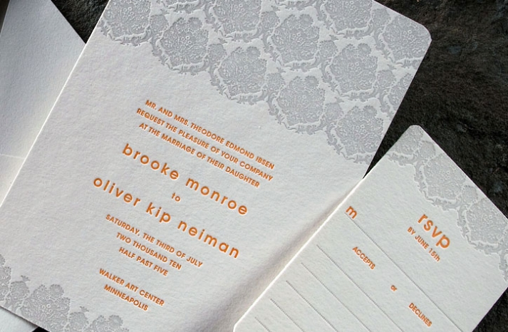 sustainable-modern-wedding-invitations-lace-pattern-grey-orange-eco-friendly-2