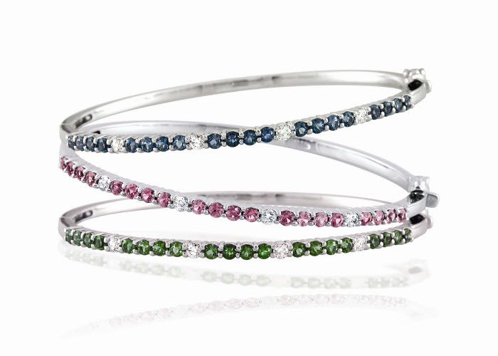 Last chance to win a diamond and amethyst bangle bracelet for your wedding day