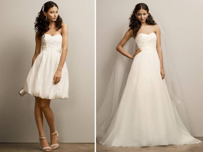 Convertible Wedding Dresses: 2011 Style Update On 2-in-1