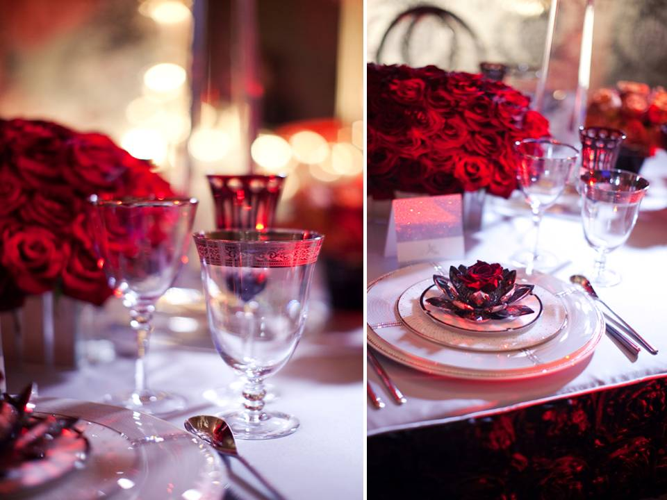 Red Wedding Bouquets Roses